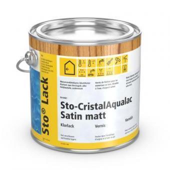 Sto CristalAqualac Satinmatt 2,5 L